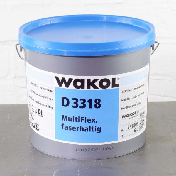 Wakol D 3318 MultiFlex Dispersionsklebstoff 6 kg