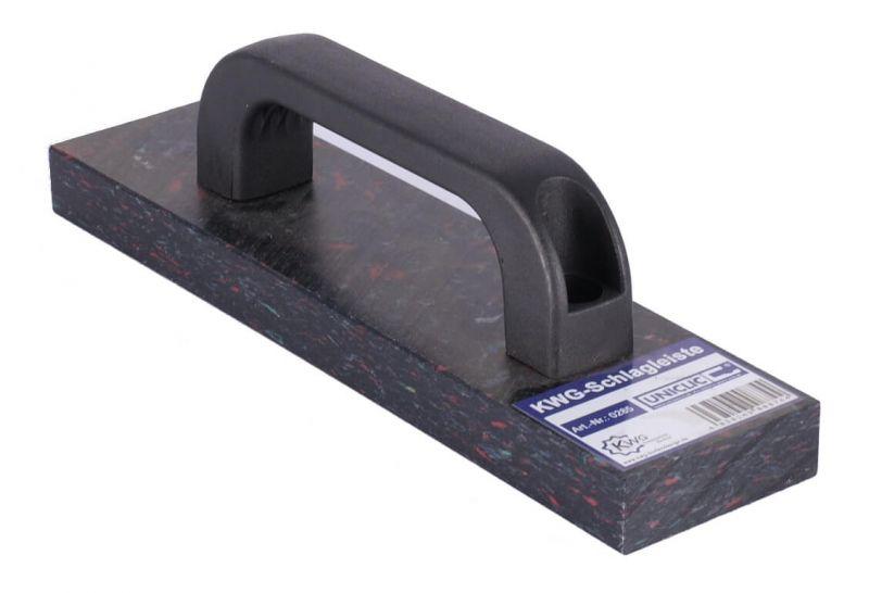 schlagleiste schlagklotz mit griff von kwg ebay. Black Bedroom Furniture Sets. Home Design Ideas